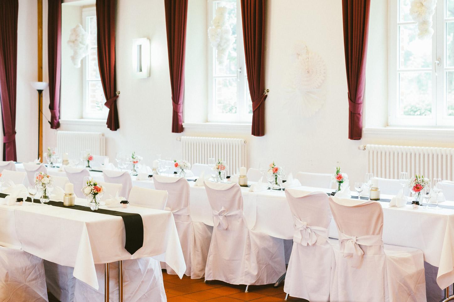 Hochzeit auf Schloss Sythen