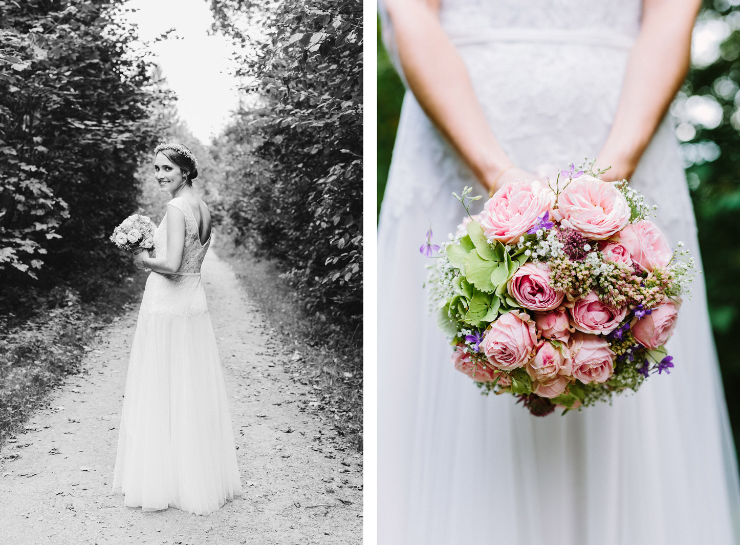 vintage Hochzeit, vintage Braut