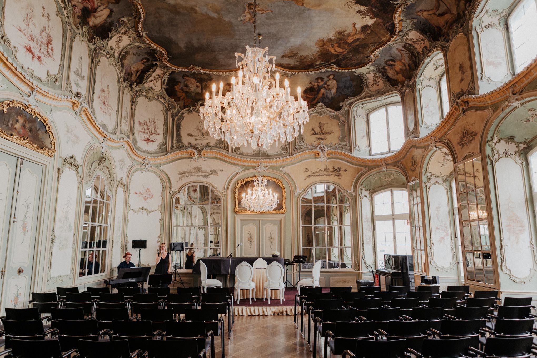 Hochzeitssaal auf Schloss Engers