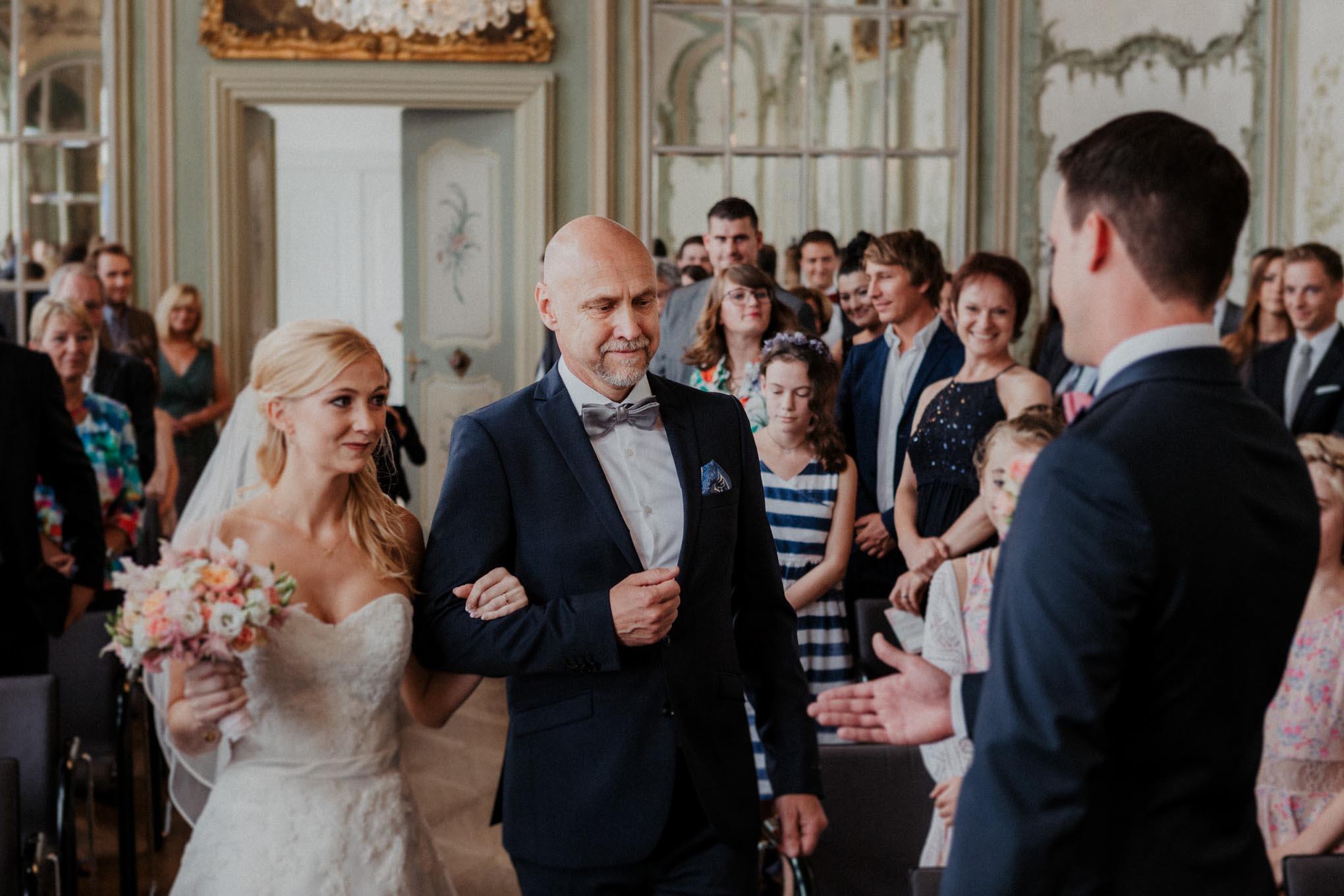 Hochzeit auf Schloss Engers in Neuwied
