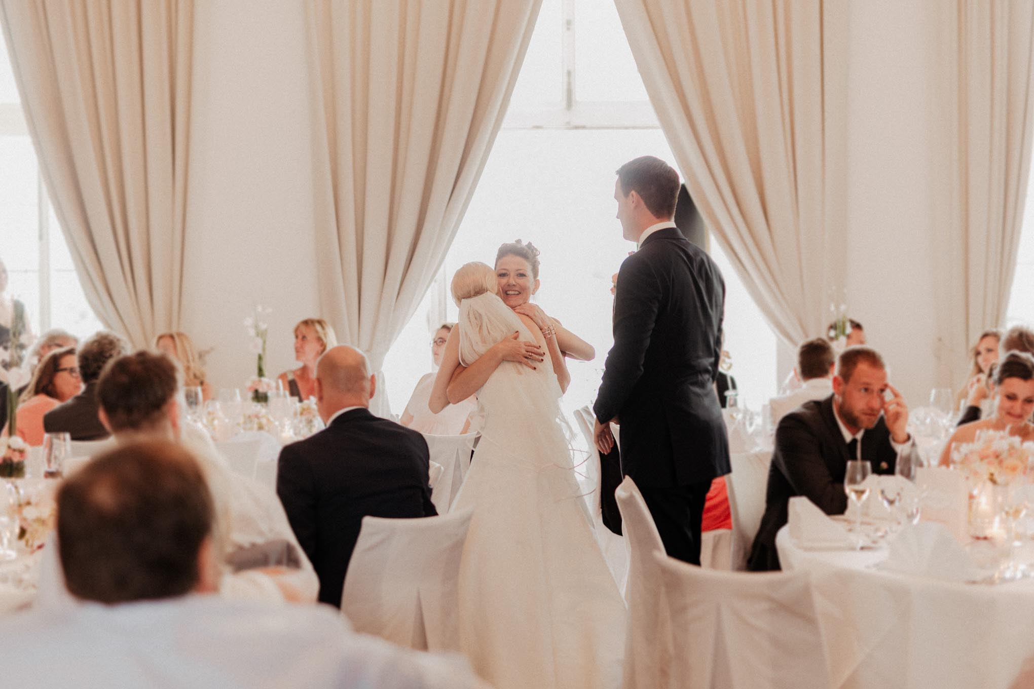 Hochzeitsfeier auf Schloss Engers