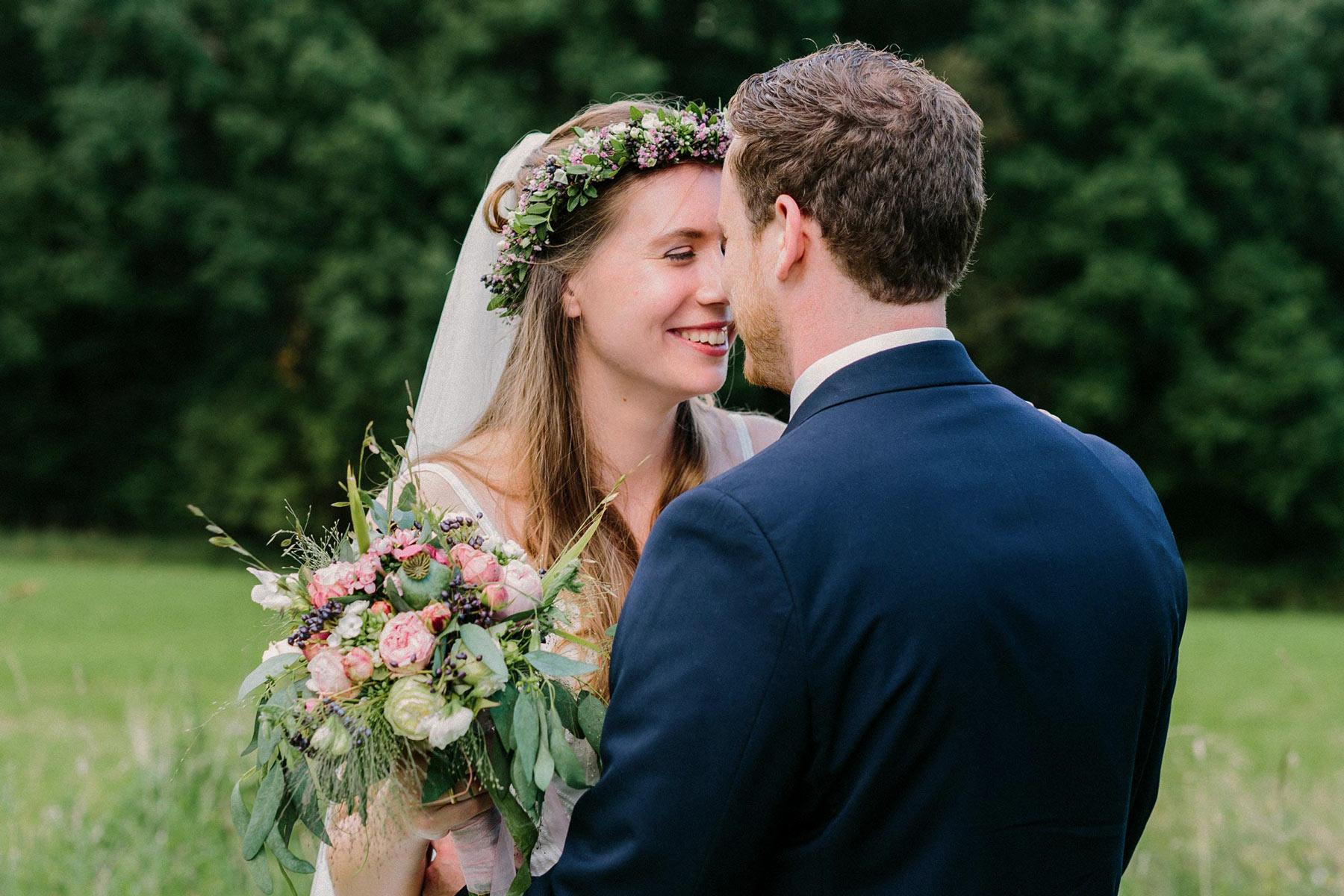Boho Brautpaar in Marienheide
