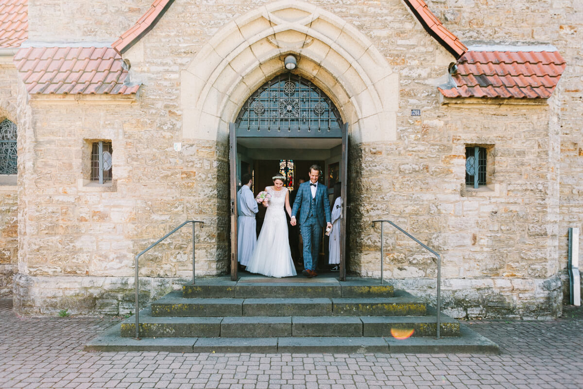 Hochzeit in der Kirche Hl. drei Könige Bergisch Gladbach