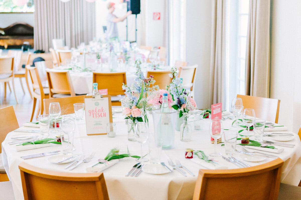 Vintage Tischdekoration Hochzeit