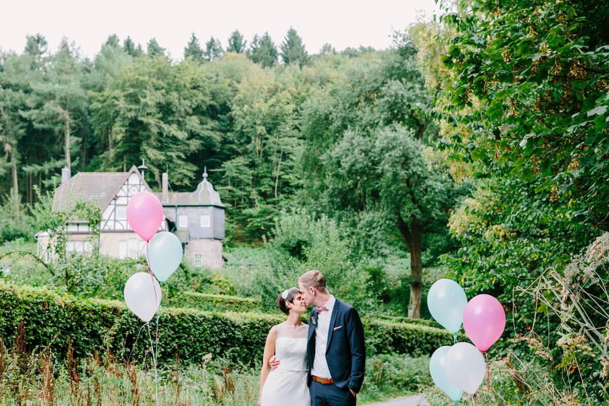 Hochzeit im Margarethenhof in Königswinter