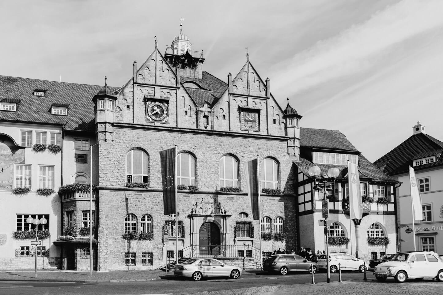 Historisches Rathaus in Bergisch Gladbach