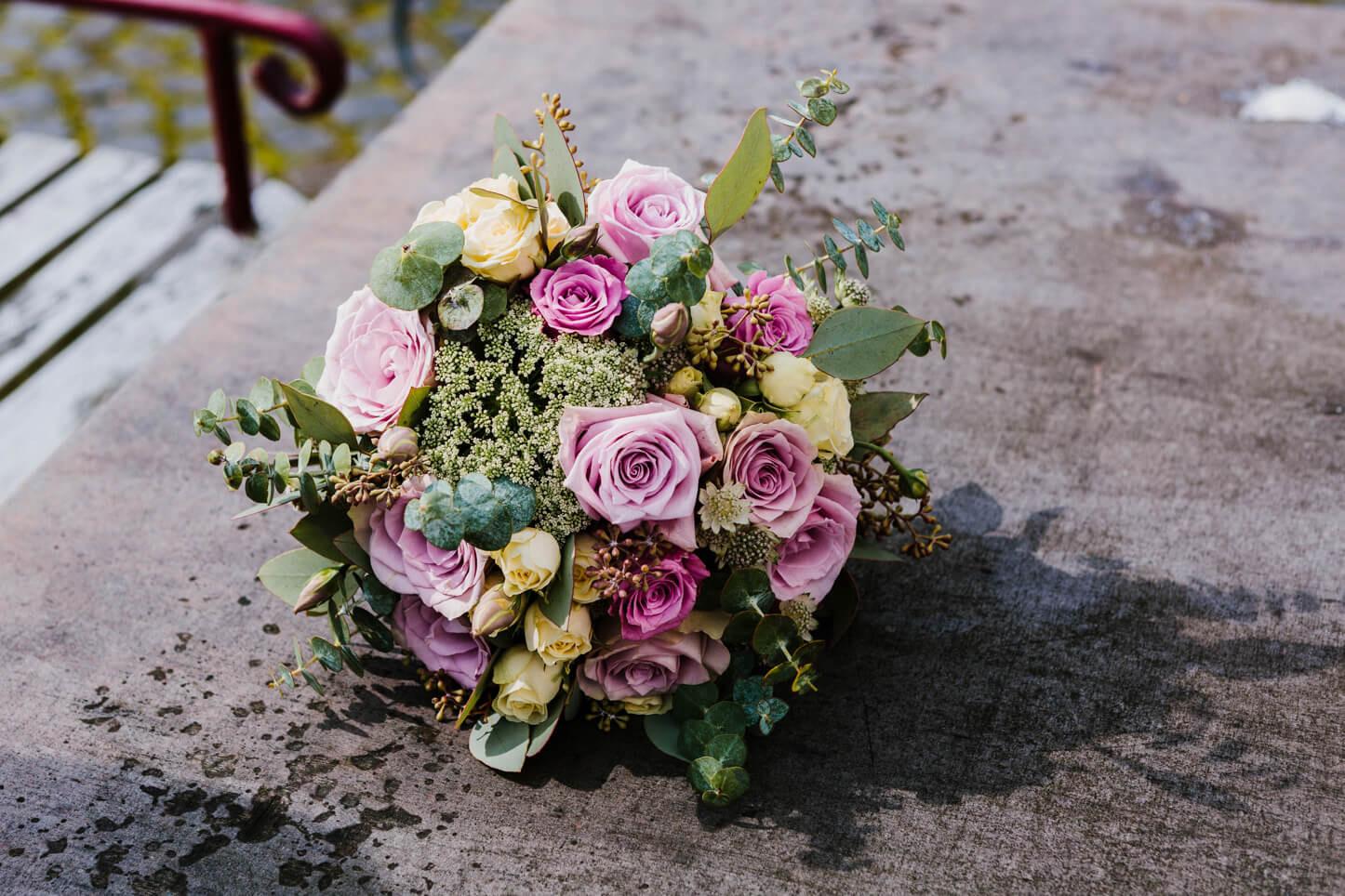 Vintage Brautstrauß