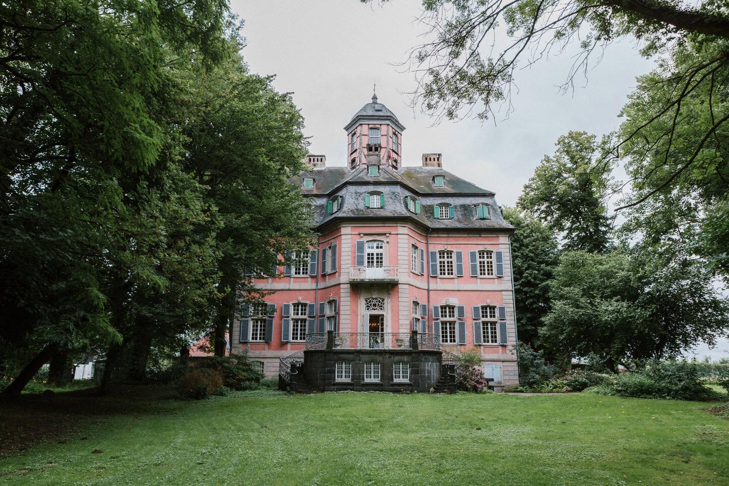 Hochzeit auf Schloss Arff
