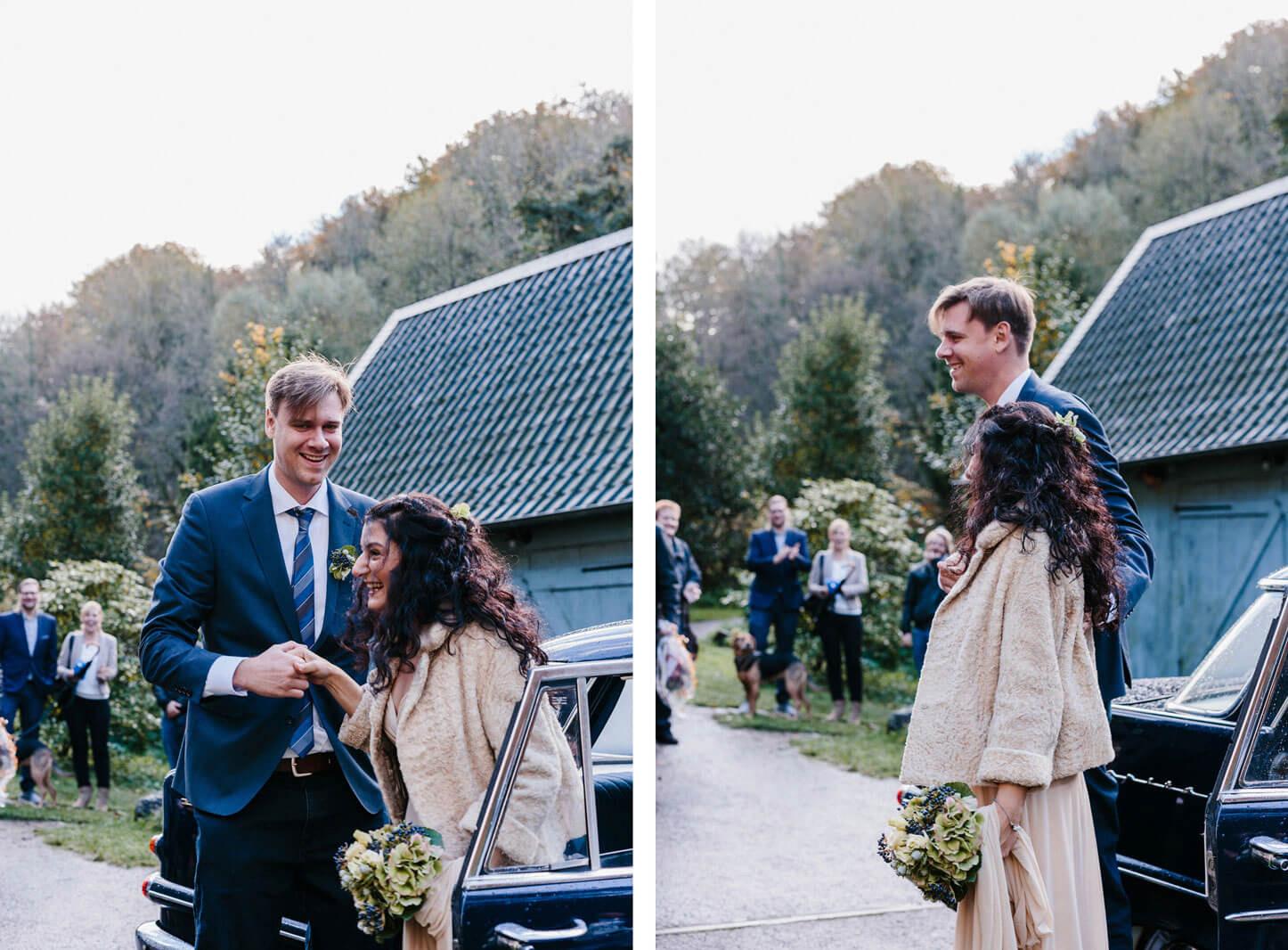 Herbstliche Hochzeit in der Lambertsmuehle