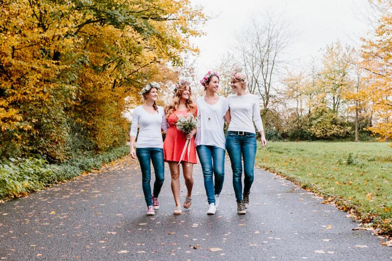 JGA Fotoshooting mit den Freundinnen