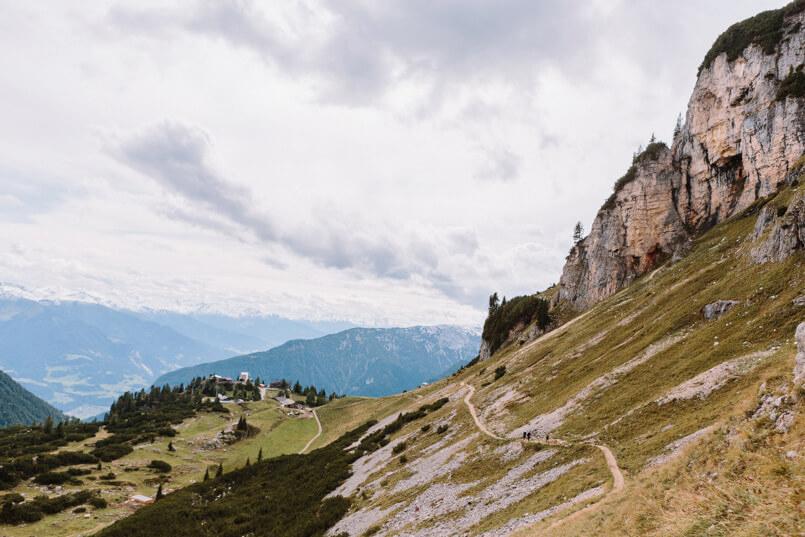 Berge in Österreich am Achensee