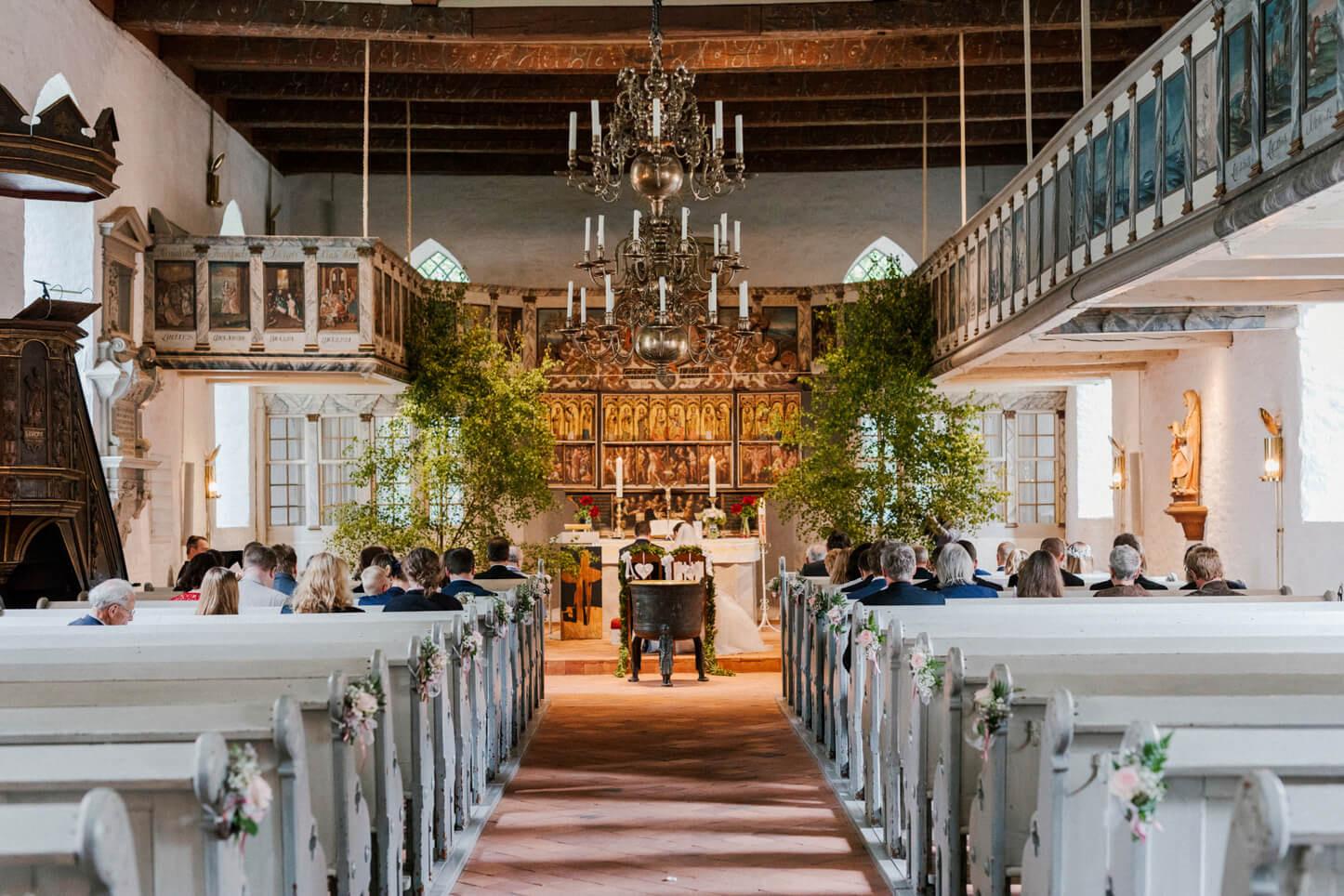 Hochzeit in Schleswigholstein