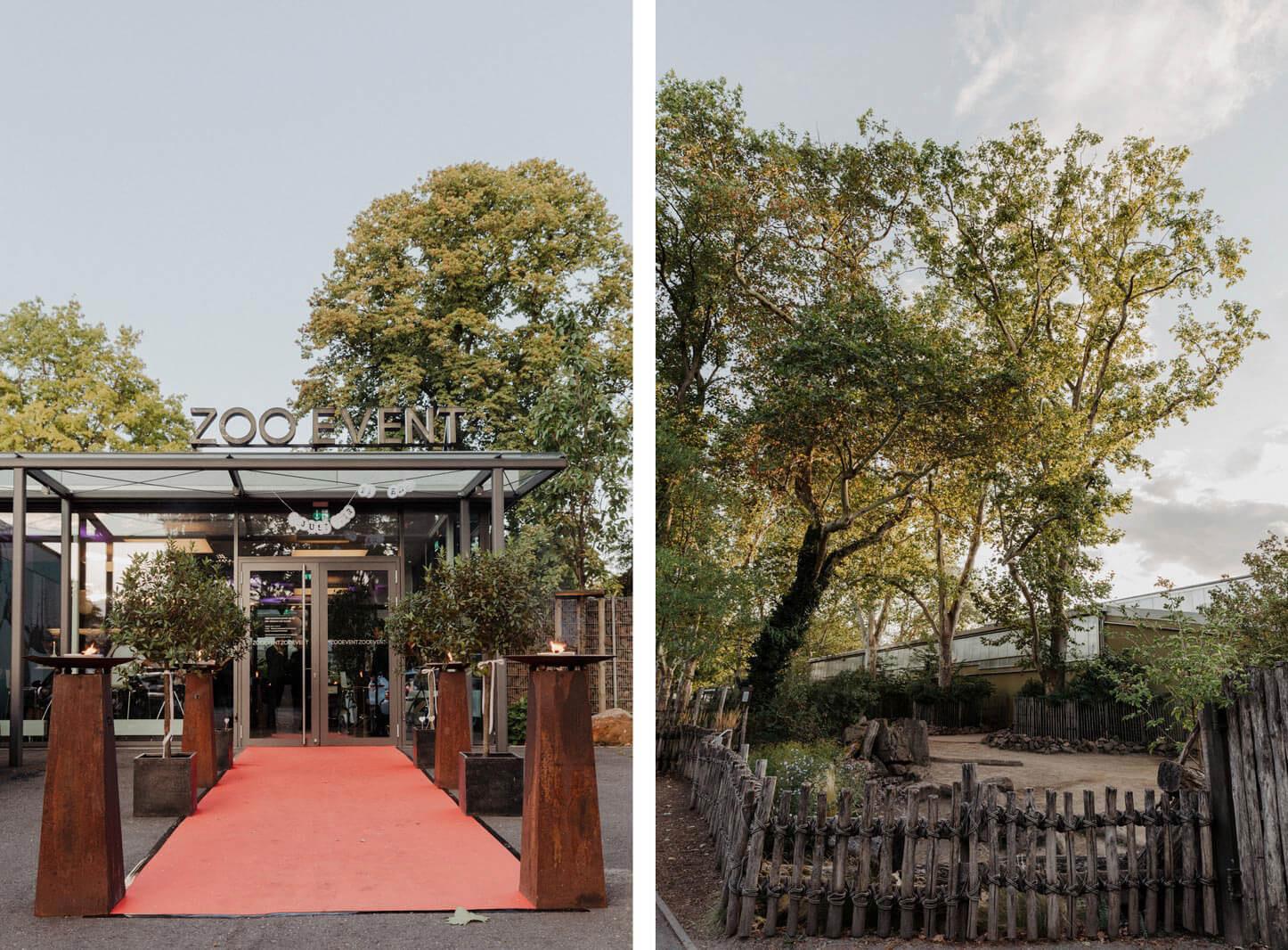 Hochzeit im Zoo event Köln
