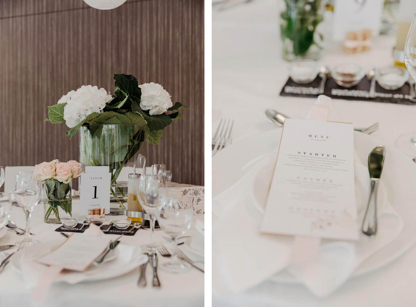 elegante Hochzeitsdekoration