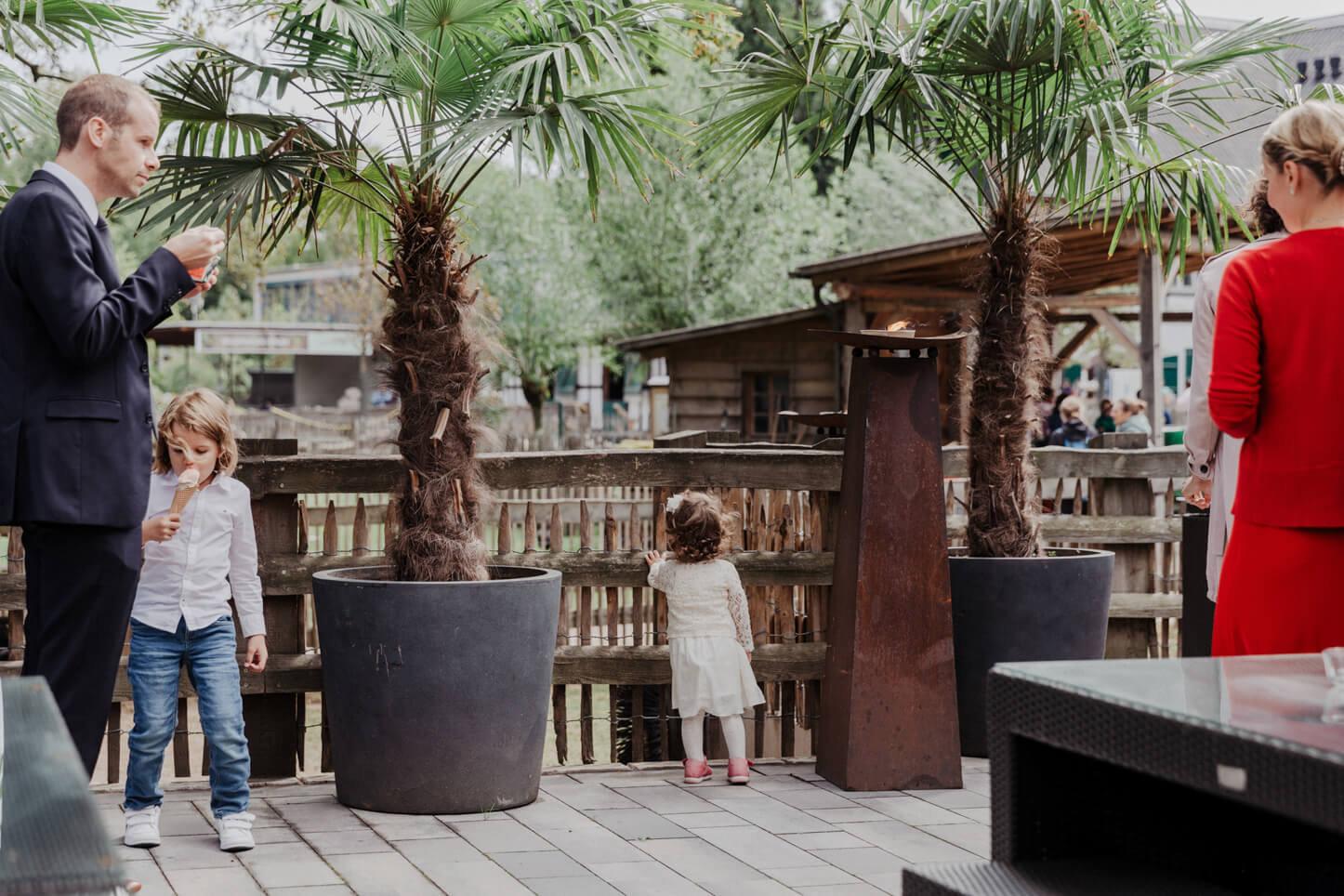 Terasse im Zoo Event Köln