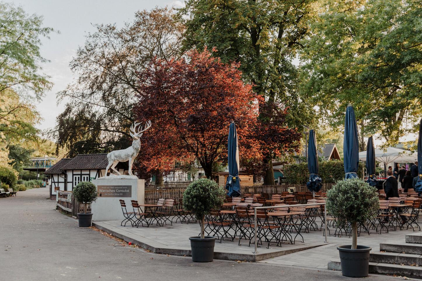 Boho-Hochzeit im Zoo-Event Köln