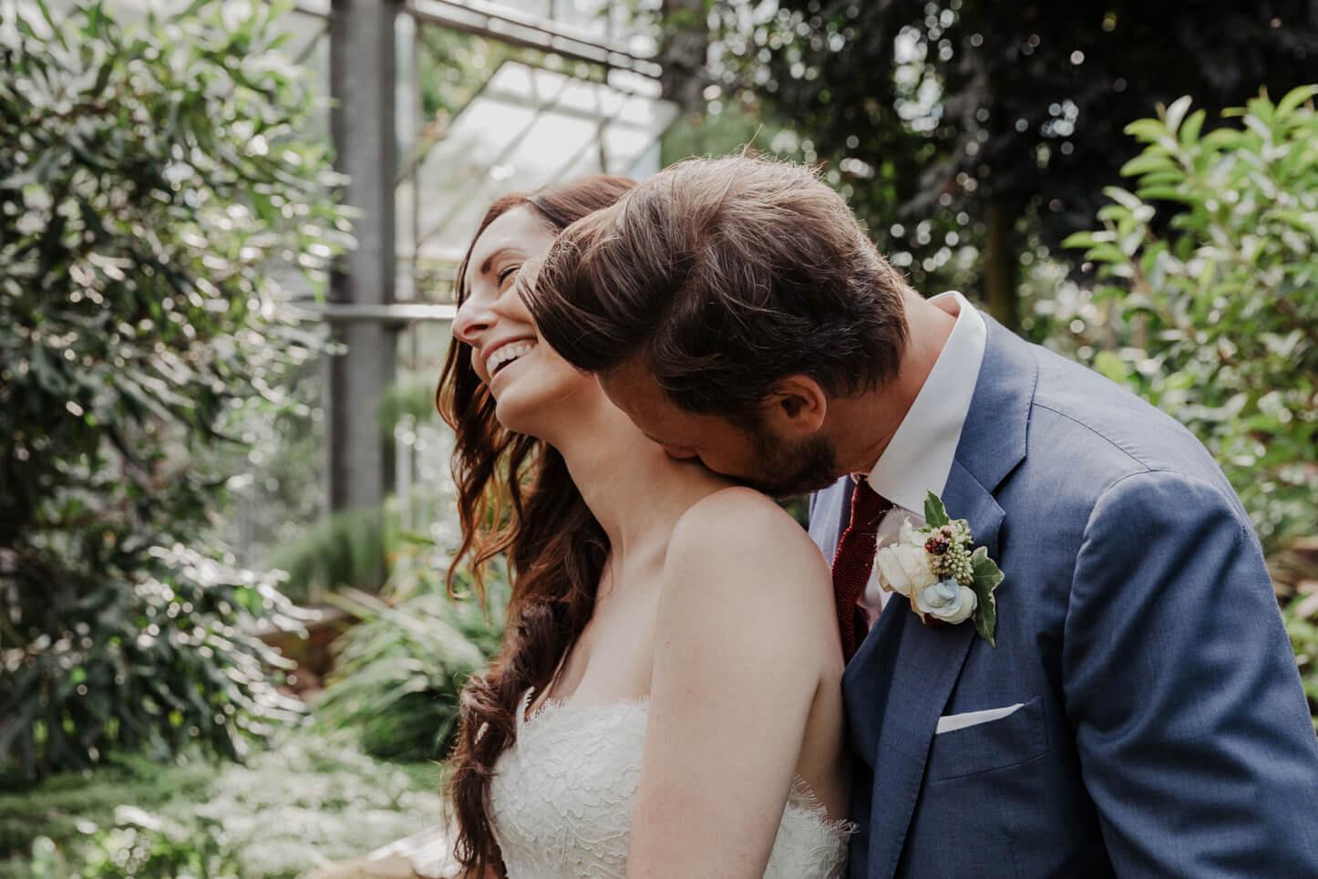 Boho-Hochzeit im Gewächshaus