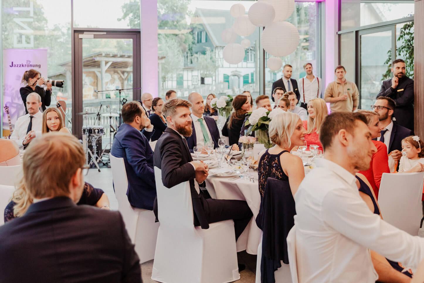 Hochzeitsfeier im Zoo Event Köln