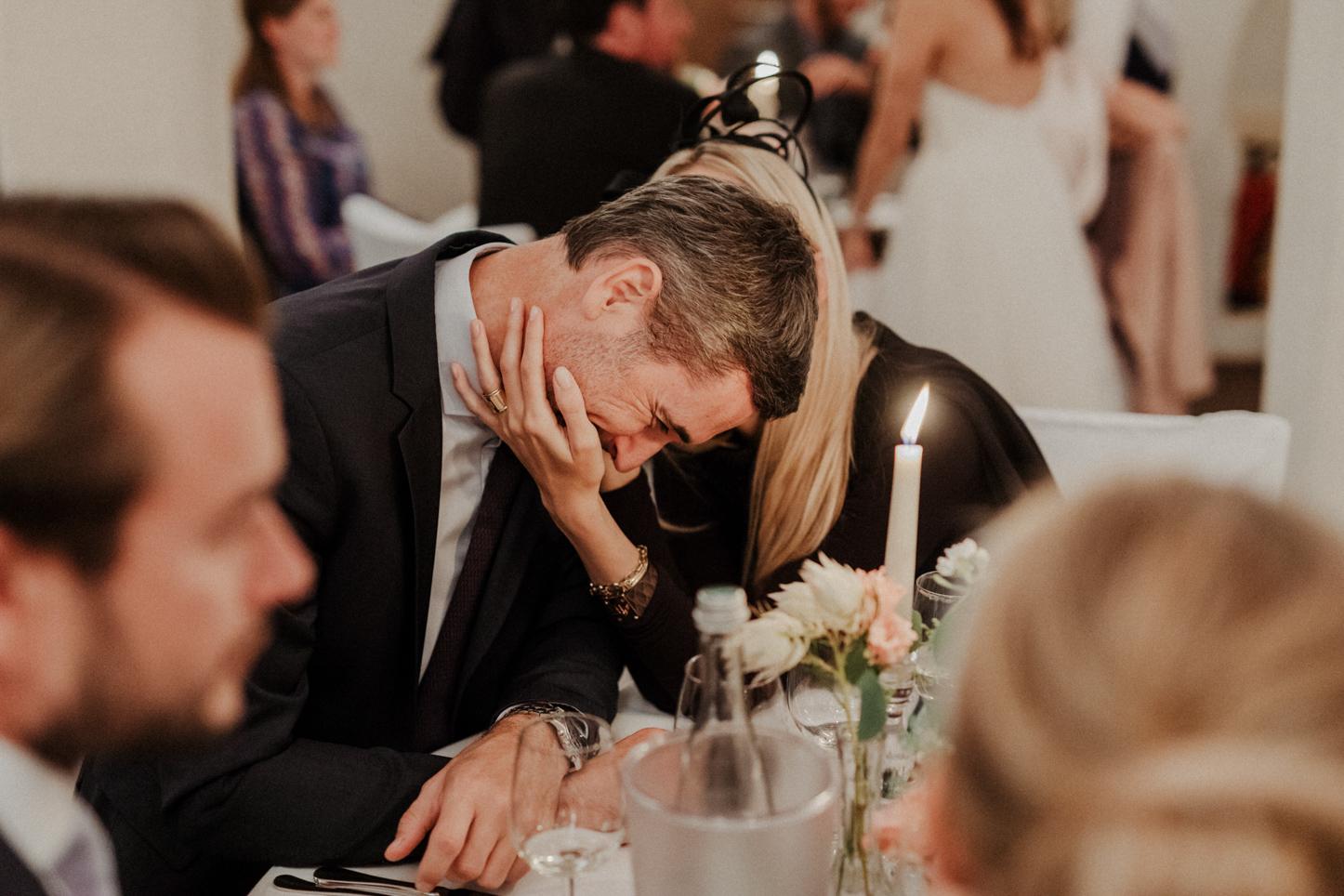 Gäste bei einer Hochzeitsreportage