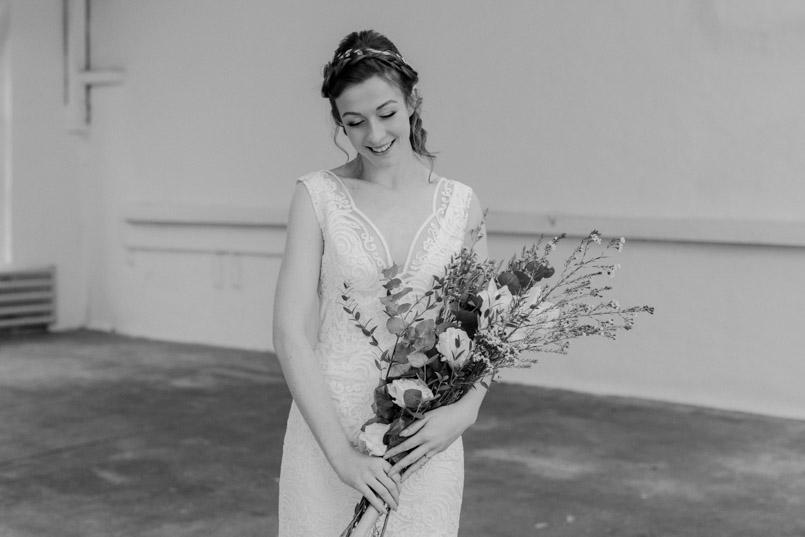 Brautmoden Fotoshooting