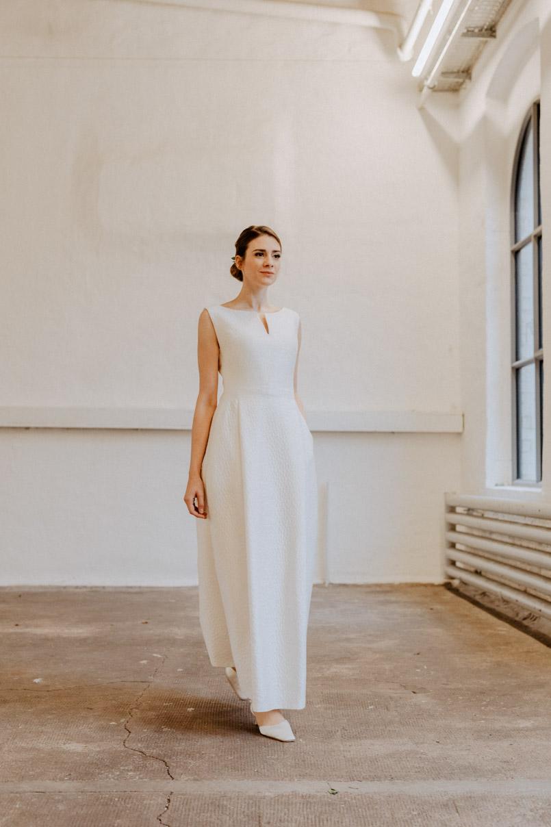 elegantes Brautkleid von Andrea Droemont