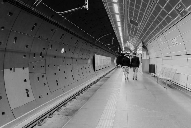 Paarshooting in der U Bahn