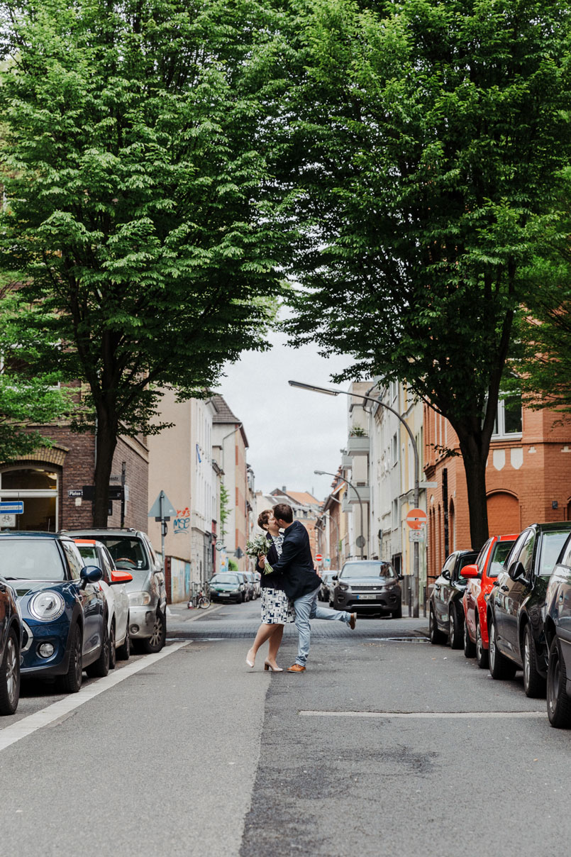 Brautpaarshooting in Köln-Ehrenfeld