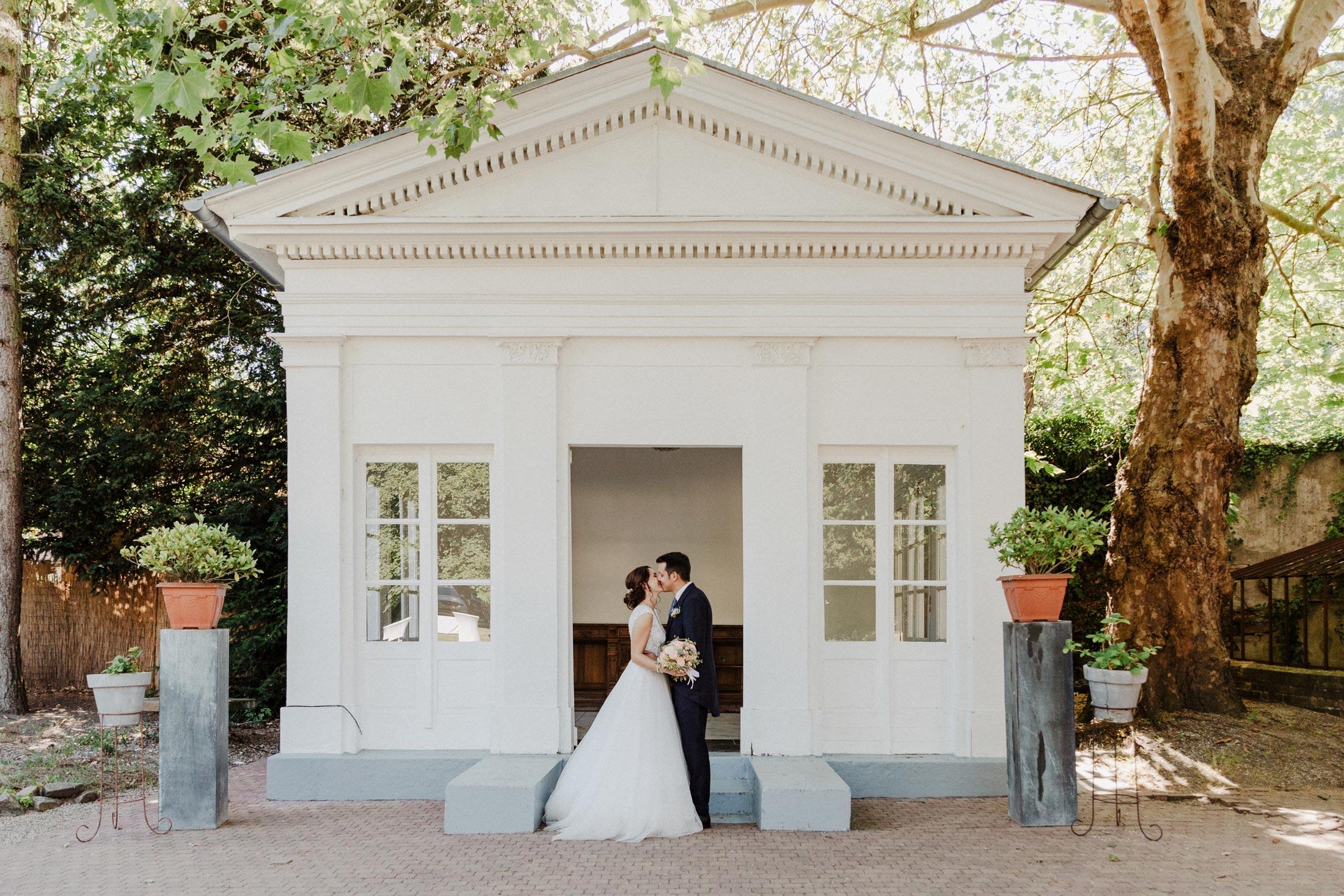 Hochzeit in der Villa Au