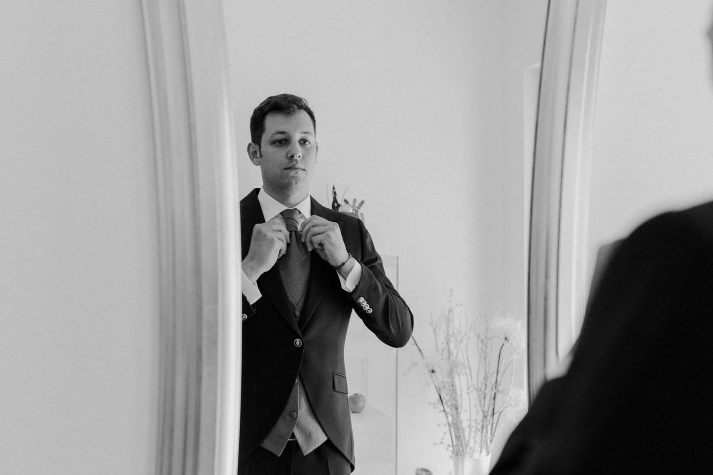 getting ready groom