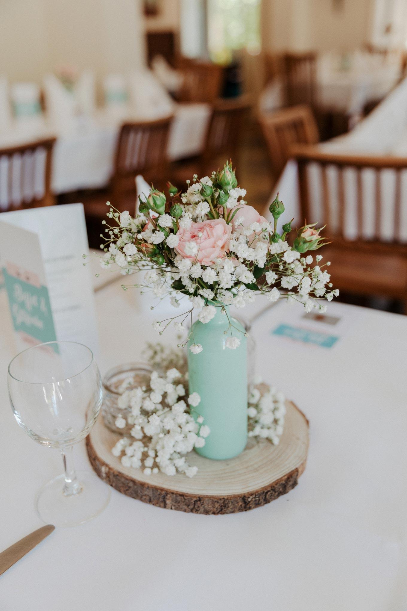 Vintage Hochzeitsdeko