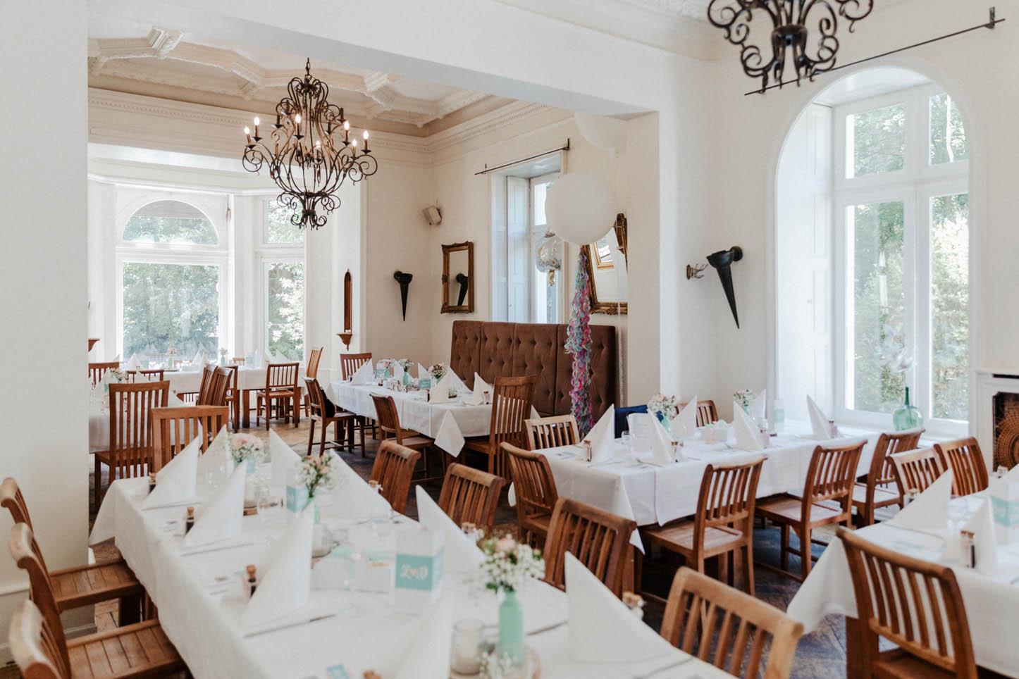 Hochzeitsdekoration Villa Au