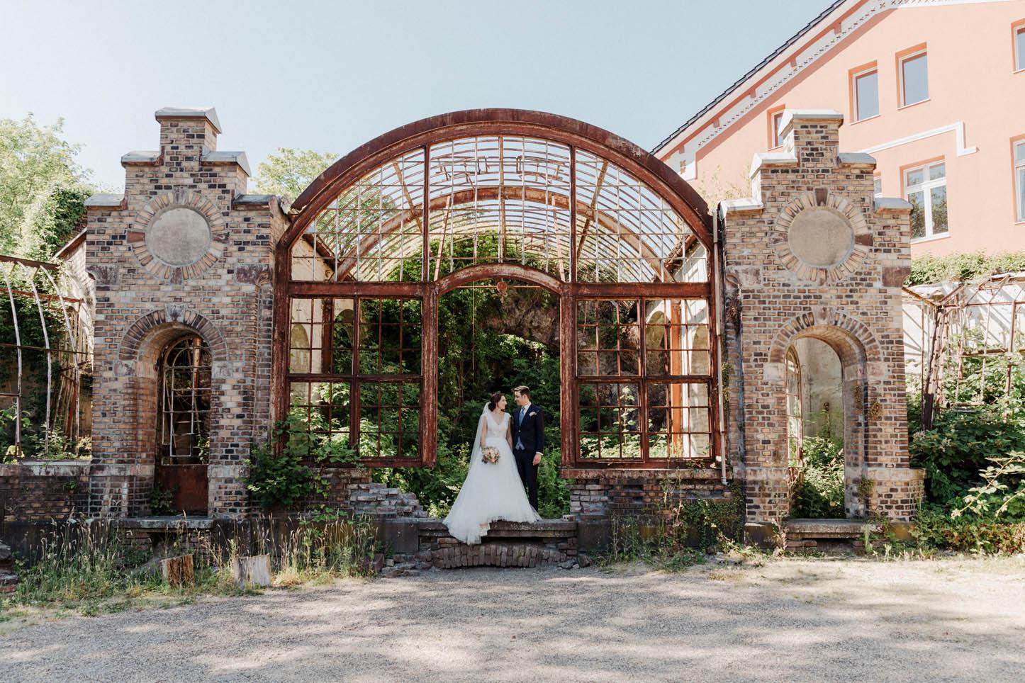 Hochzeitsfotos in der Villa Au