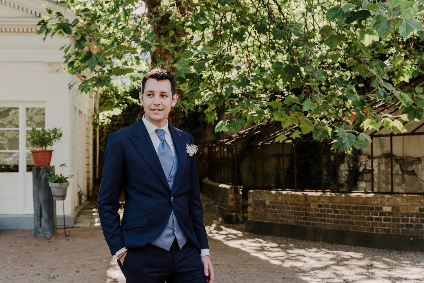 Hugo Boss Anzug für den Bräutigam