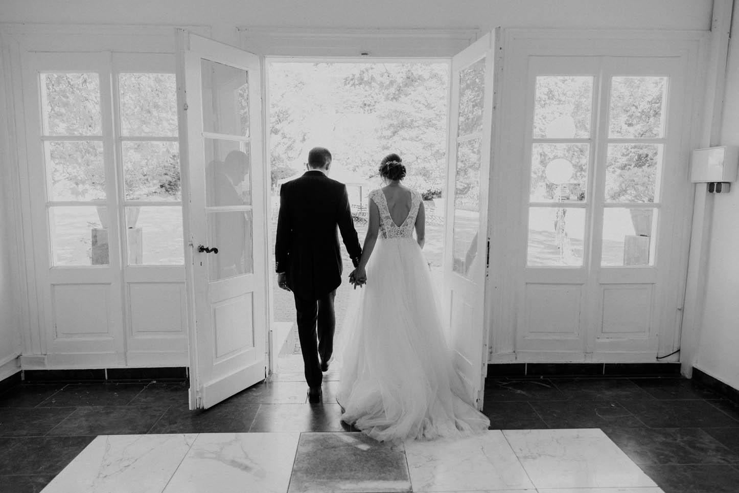 Hochzeitsfoto in der Villa Au