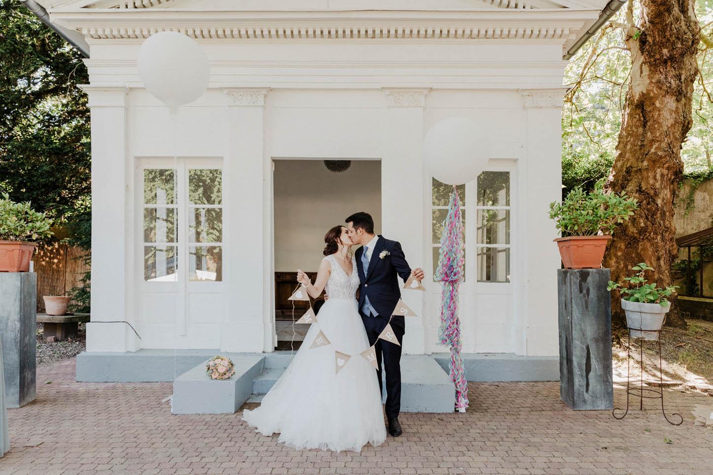 Heiraten in der Villa Au