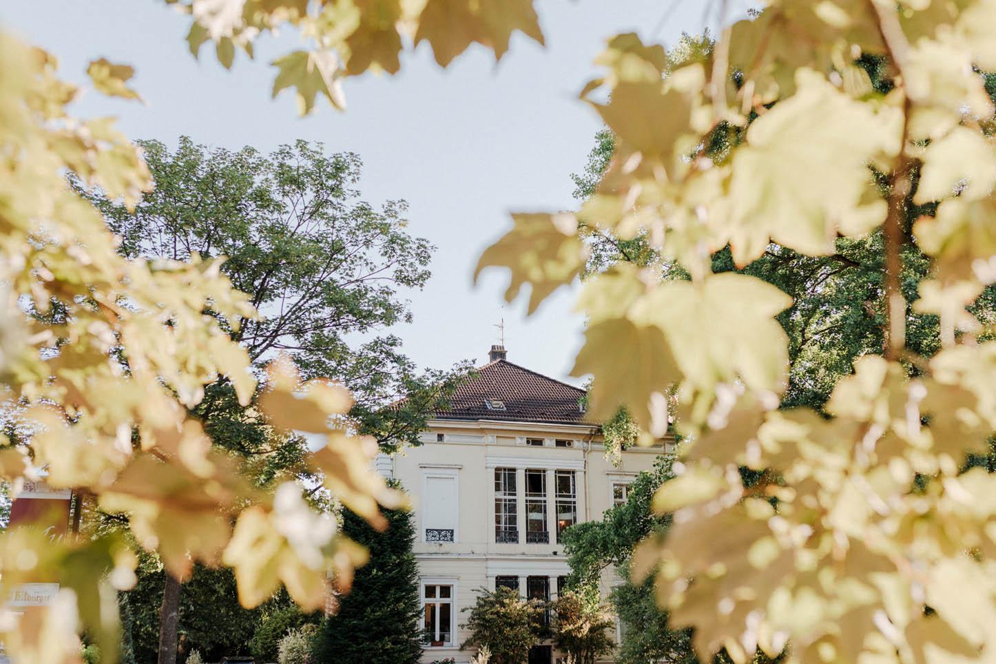 Villa Au im Herbst