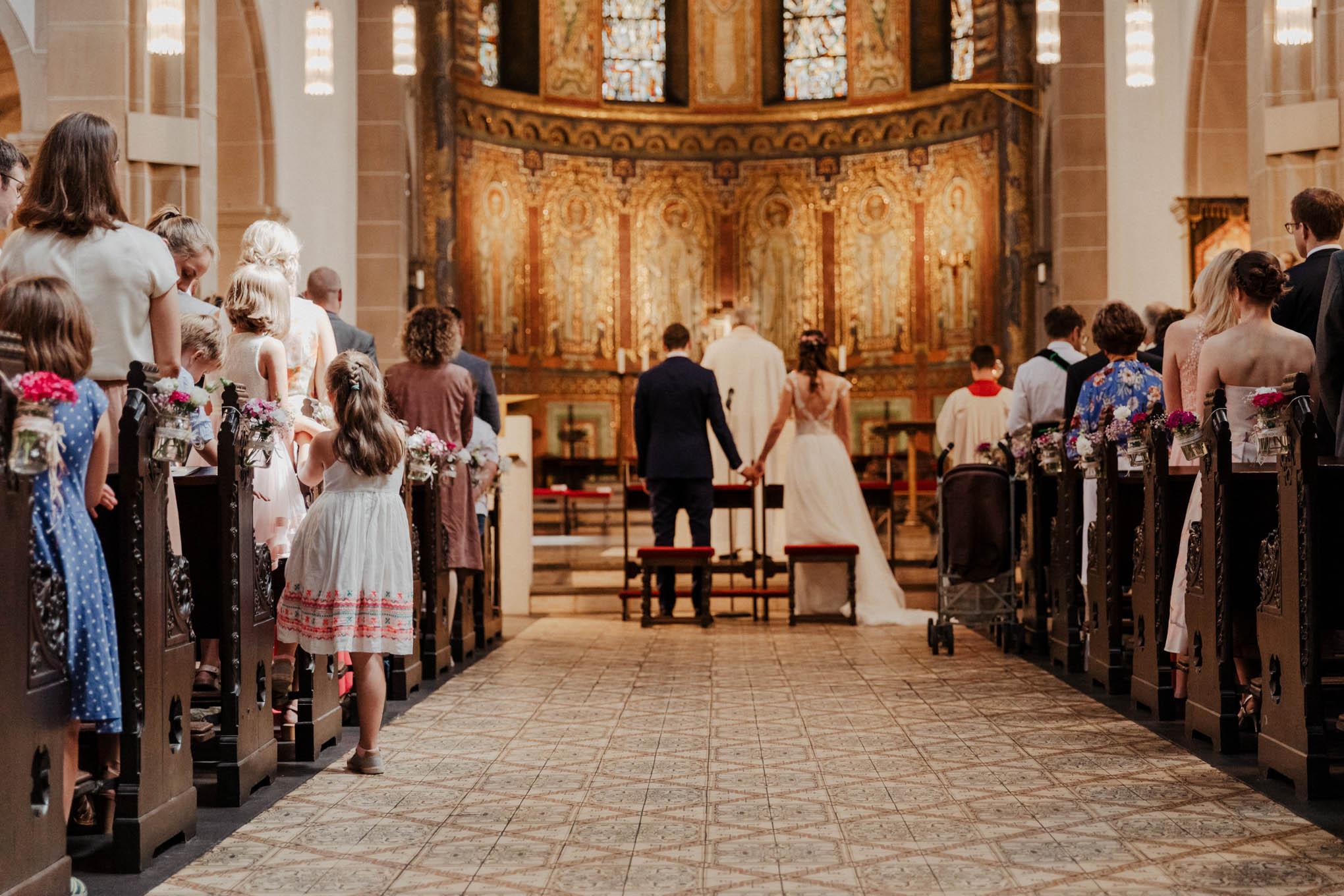 Trauung in der Kirche St. Nikolaus in Köln