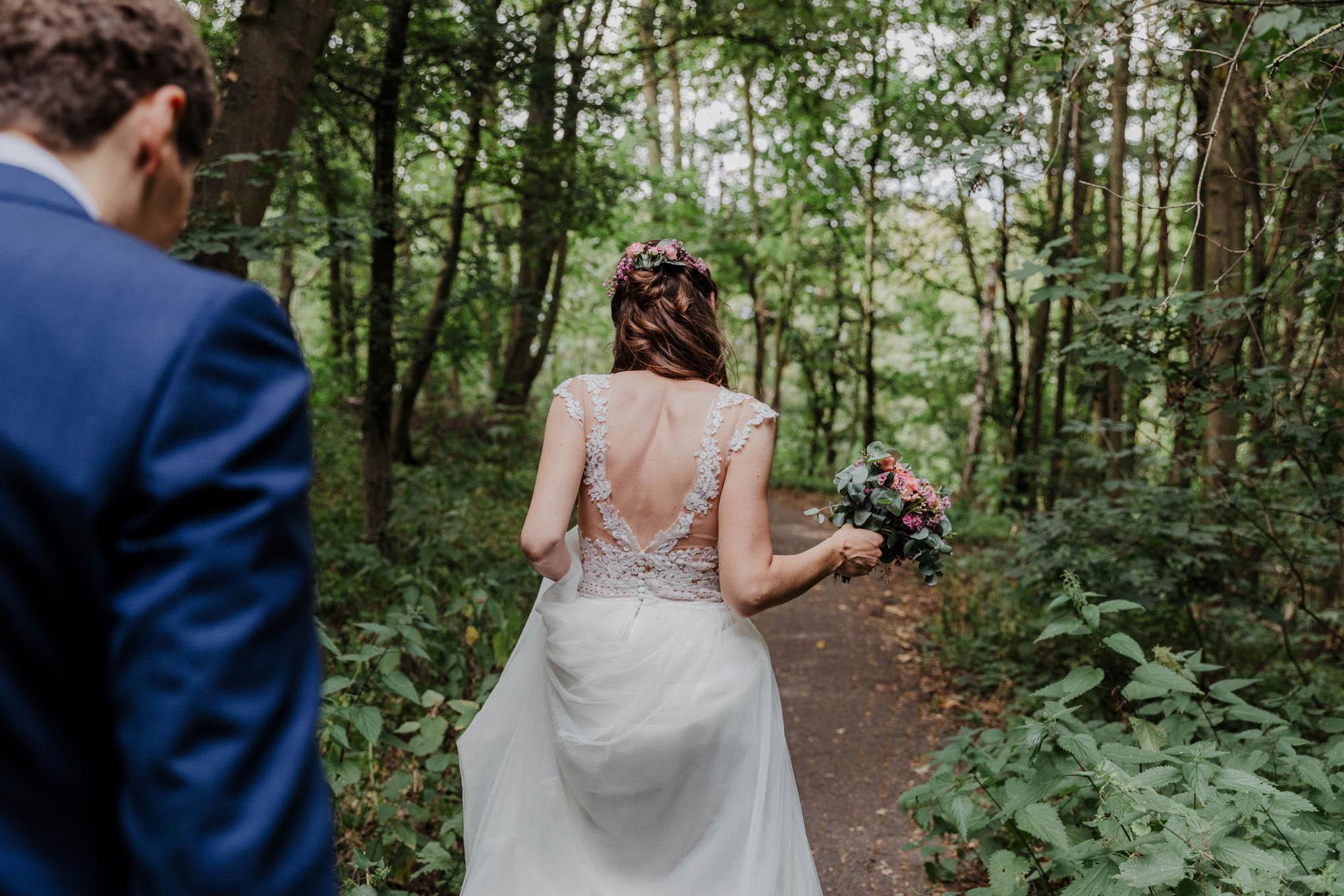 Brautpaar im Beethovepark Köln