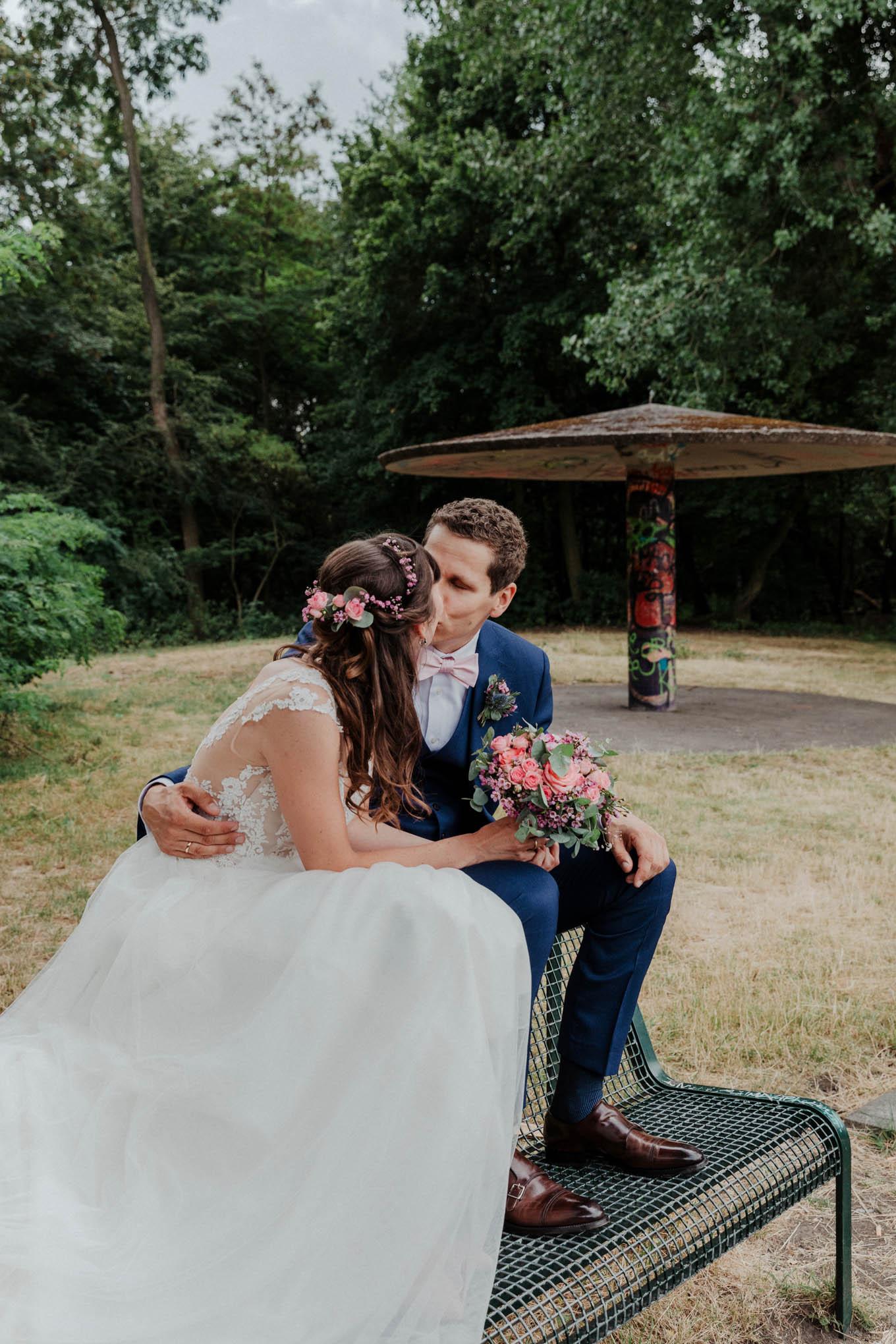 Hochzeitsfotos im Beethovepark Köln