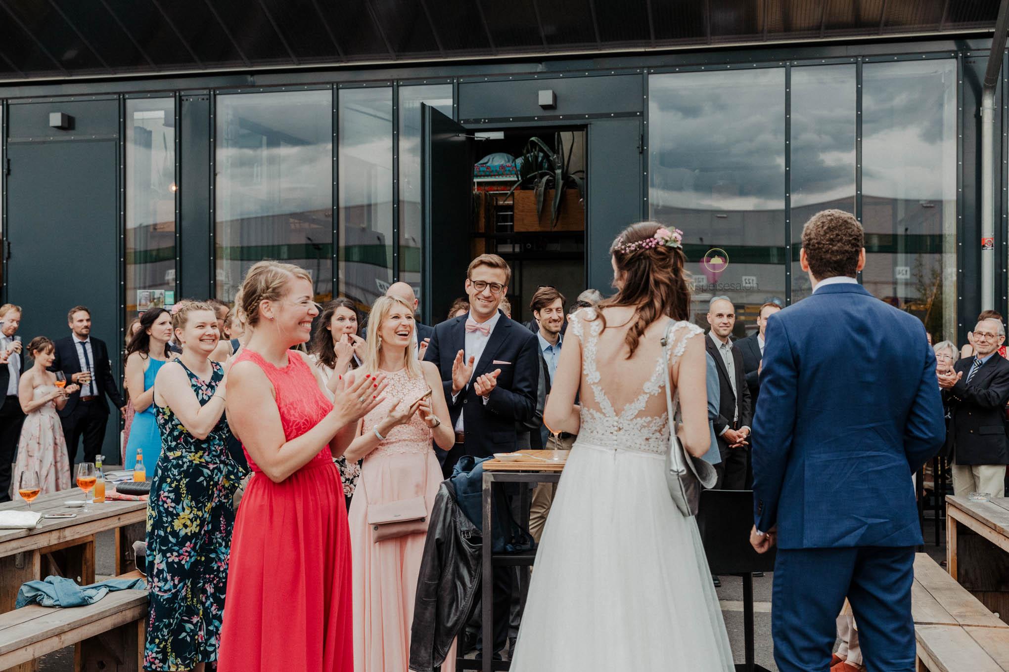 Hochzeit im Deinspeisesalon in Köln