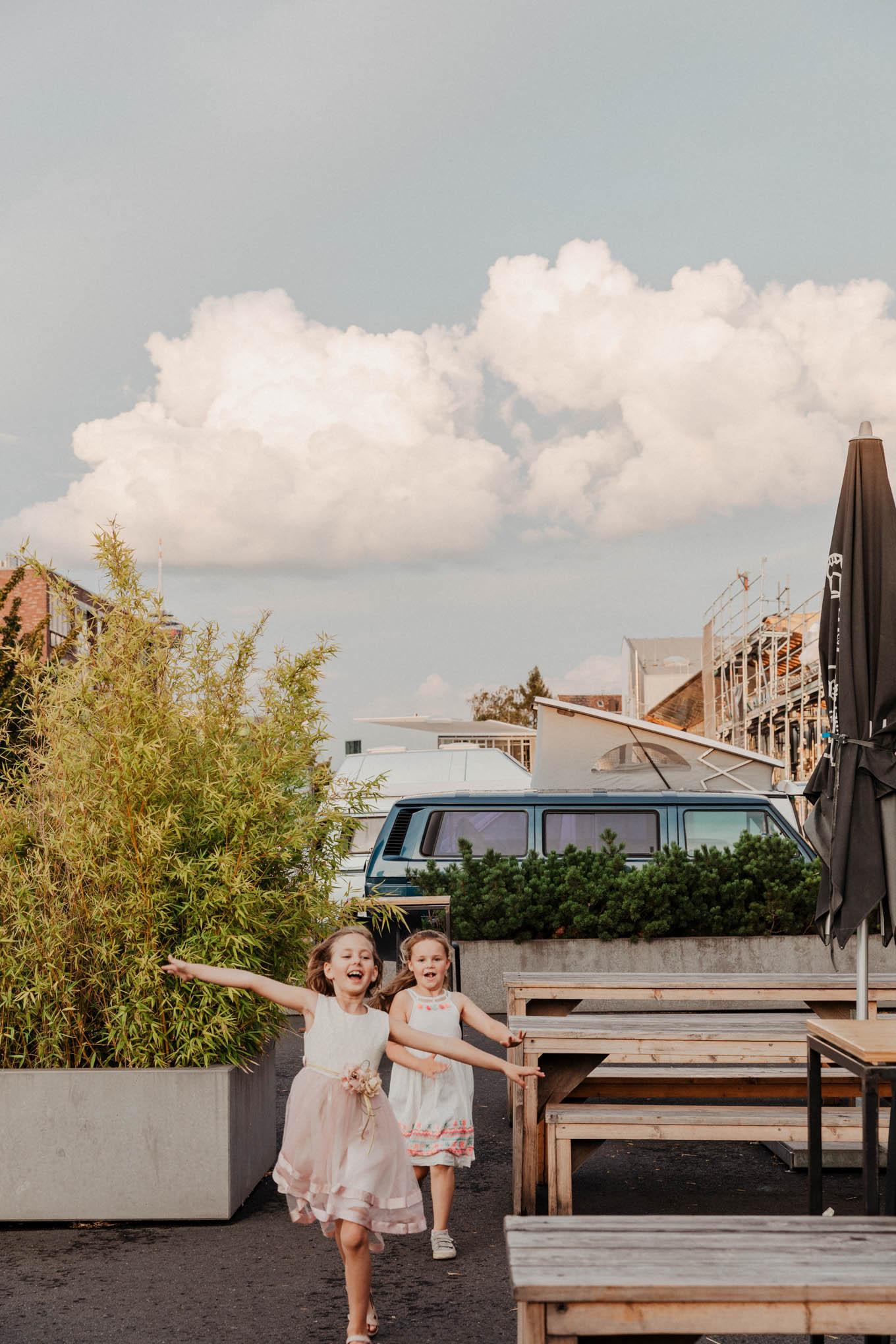 Foto von Hochzeitsreportage mit Kindern in Köln