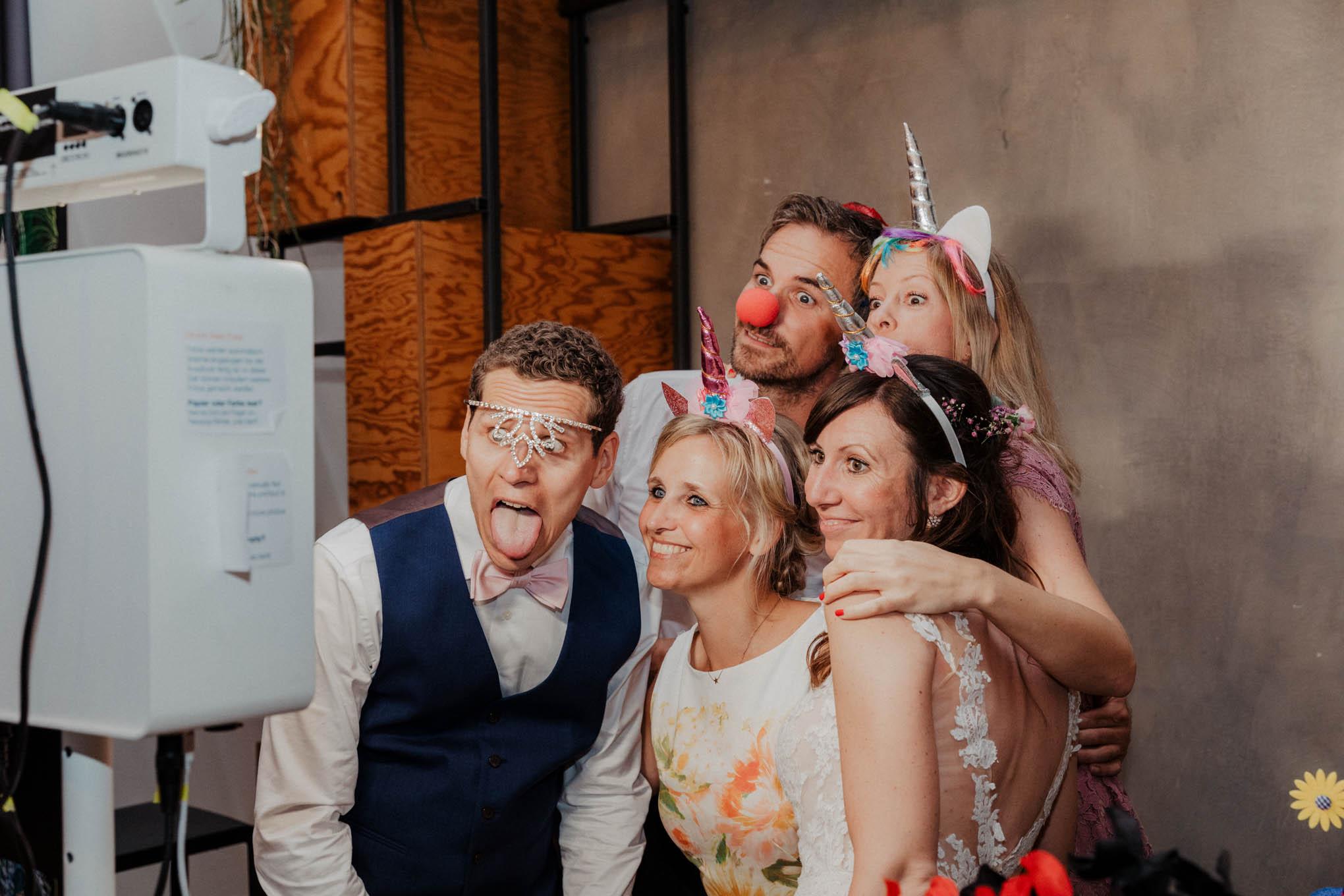 Photobooth zur Hochzeit