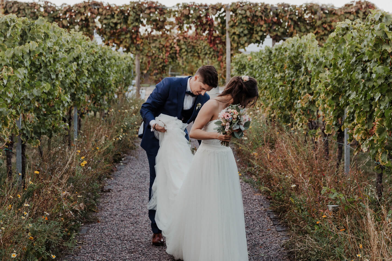 Hochzeit auf dem Weingut