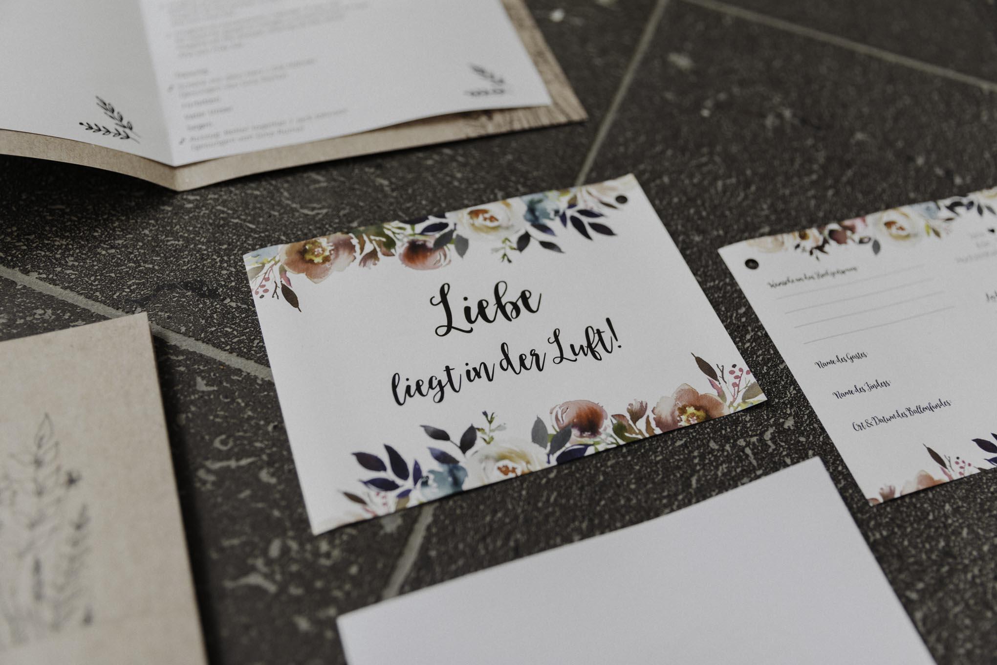 Glückwunschkarten Brautpaar