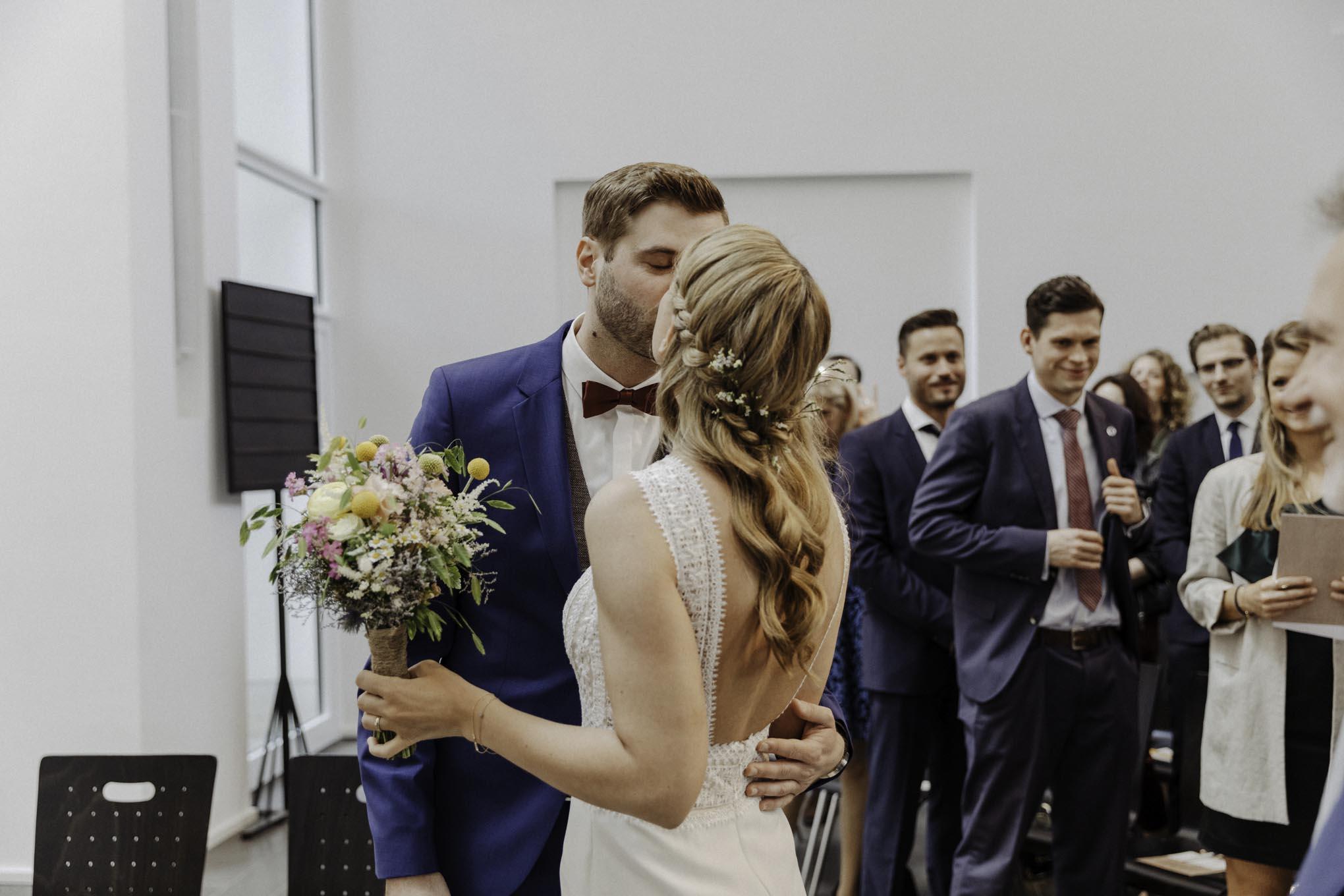 Hochzeit in der Christuskirche in Köln