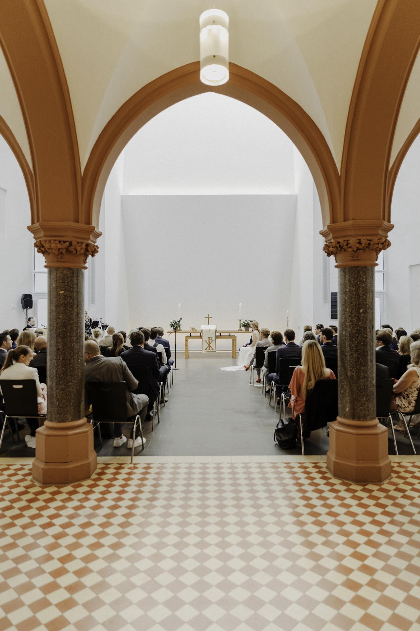 Hochzeit in der Christuskirche Köln