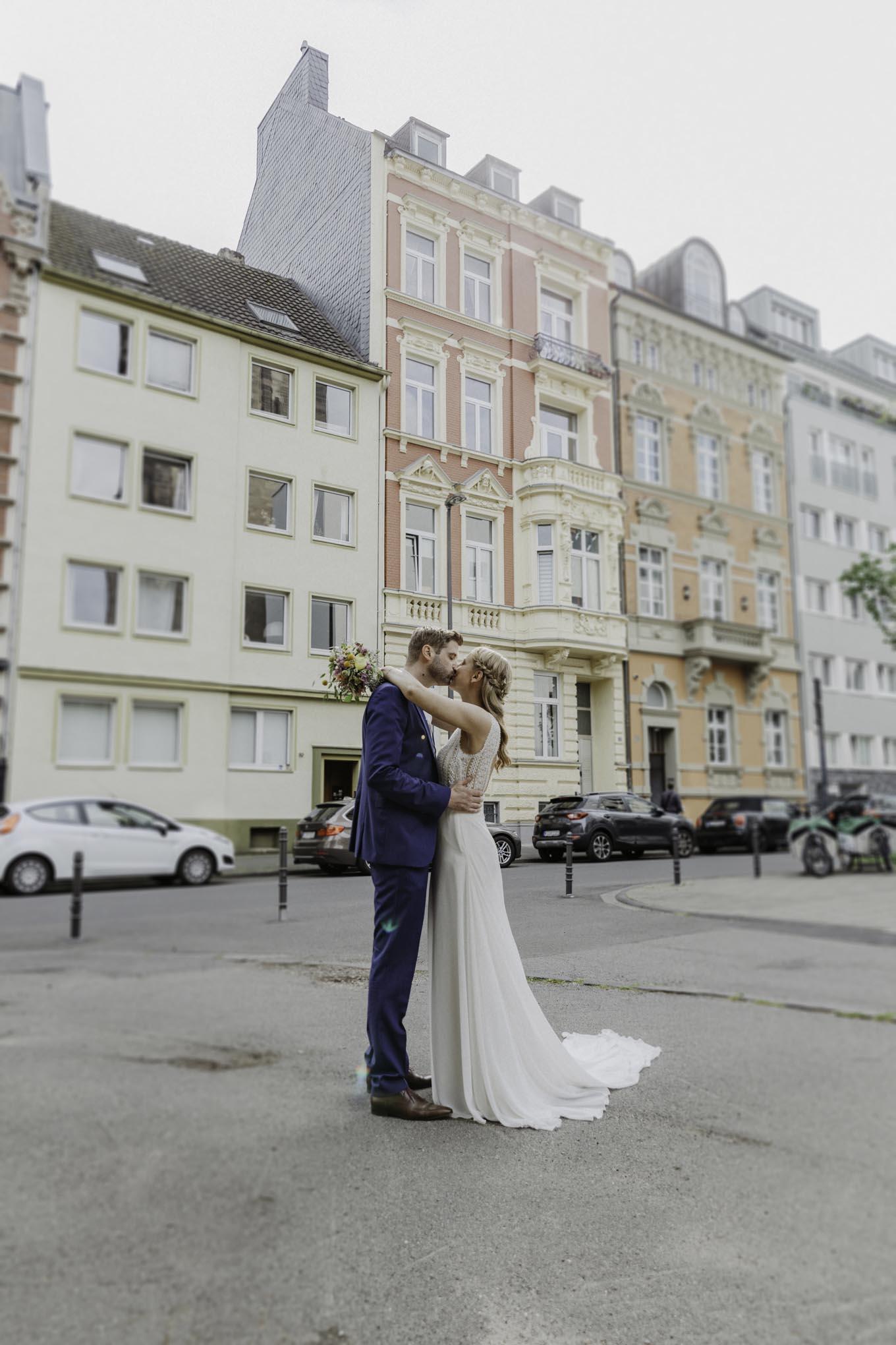 Hochzeitsfoto in Köln am Stadtgarten