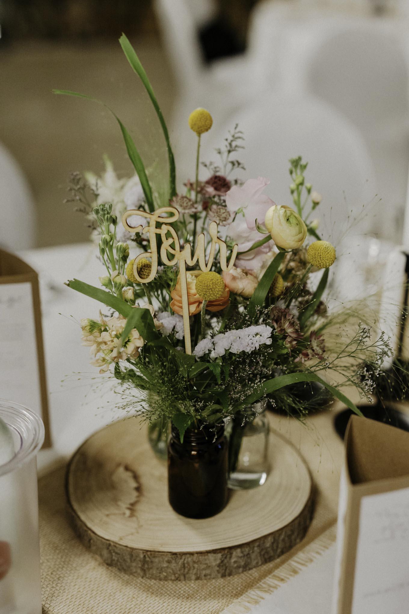 Hochzeitsdekoration Millianshof