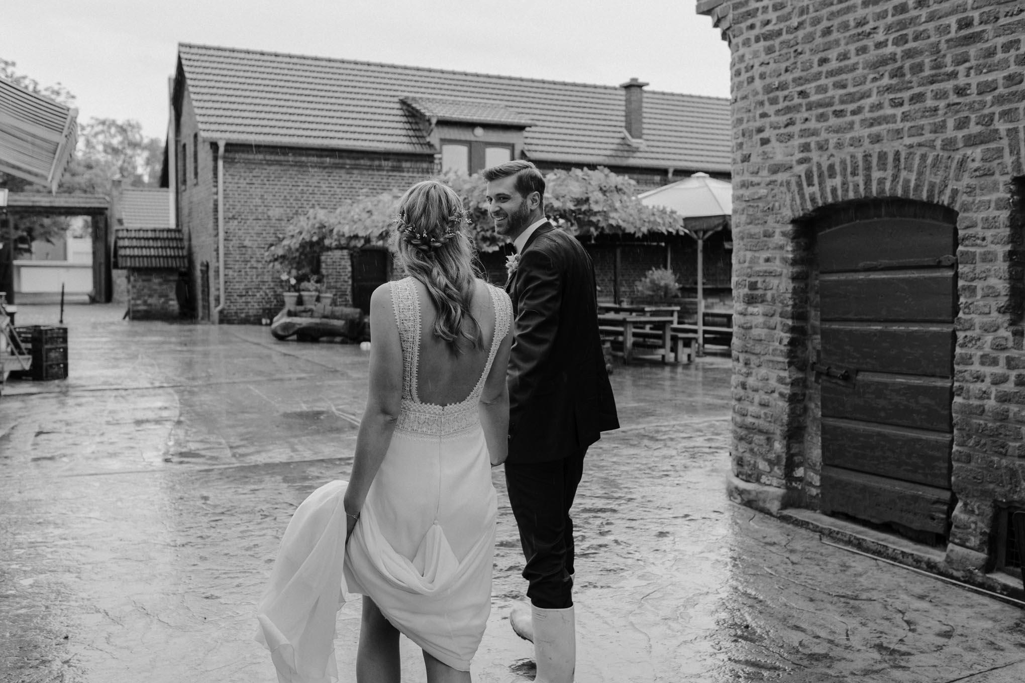 Hochzeit auf dem Bauernhof nahe Köln