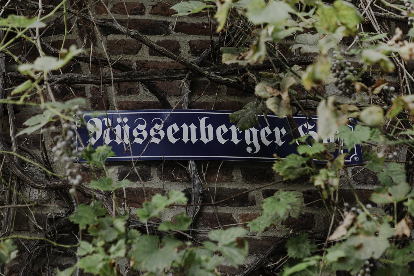 Eingangsschild vom Nüssenberger Hof